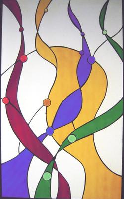 Ribbons-Abstract