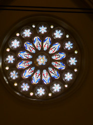 Rose Window at St. Matthews