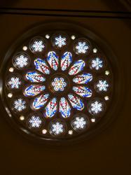 Rose Window at St. Matthews