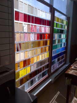 Glass Display Wall