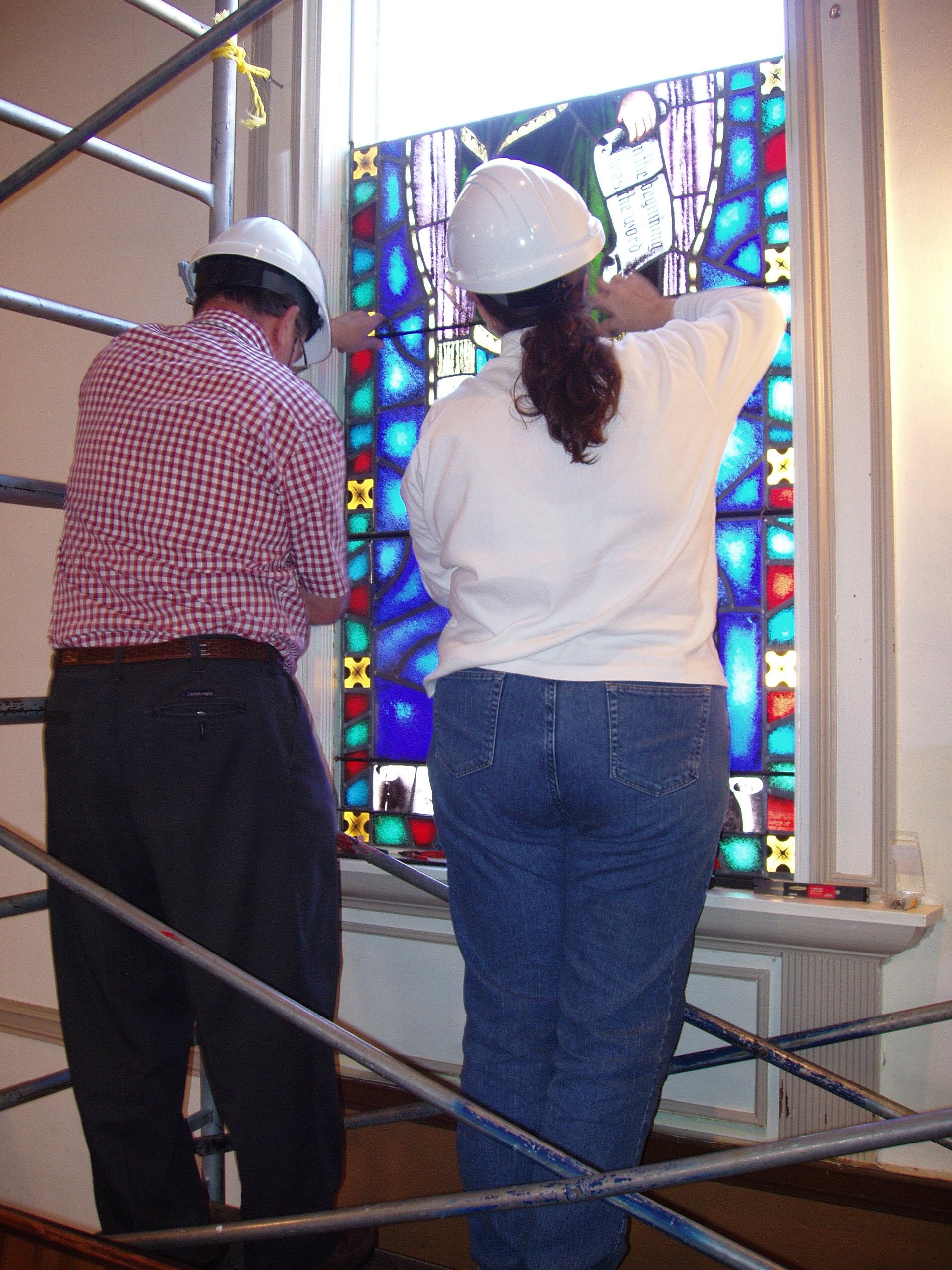 Installing a Restoration