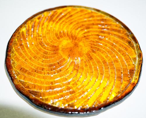 Amber Pinwheel Rondel