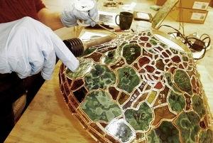 Tiffany Reproduction Lamp Tutorial