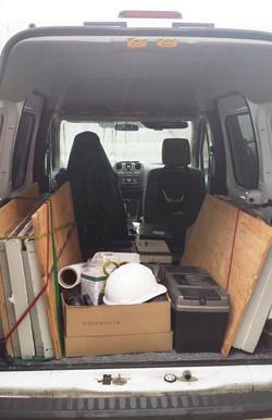 Packin' the Cran Van