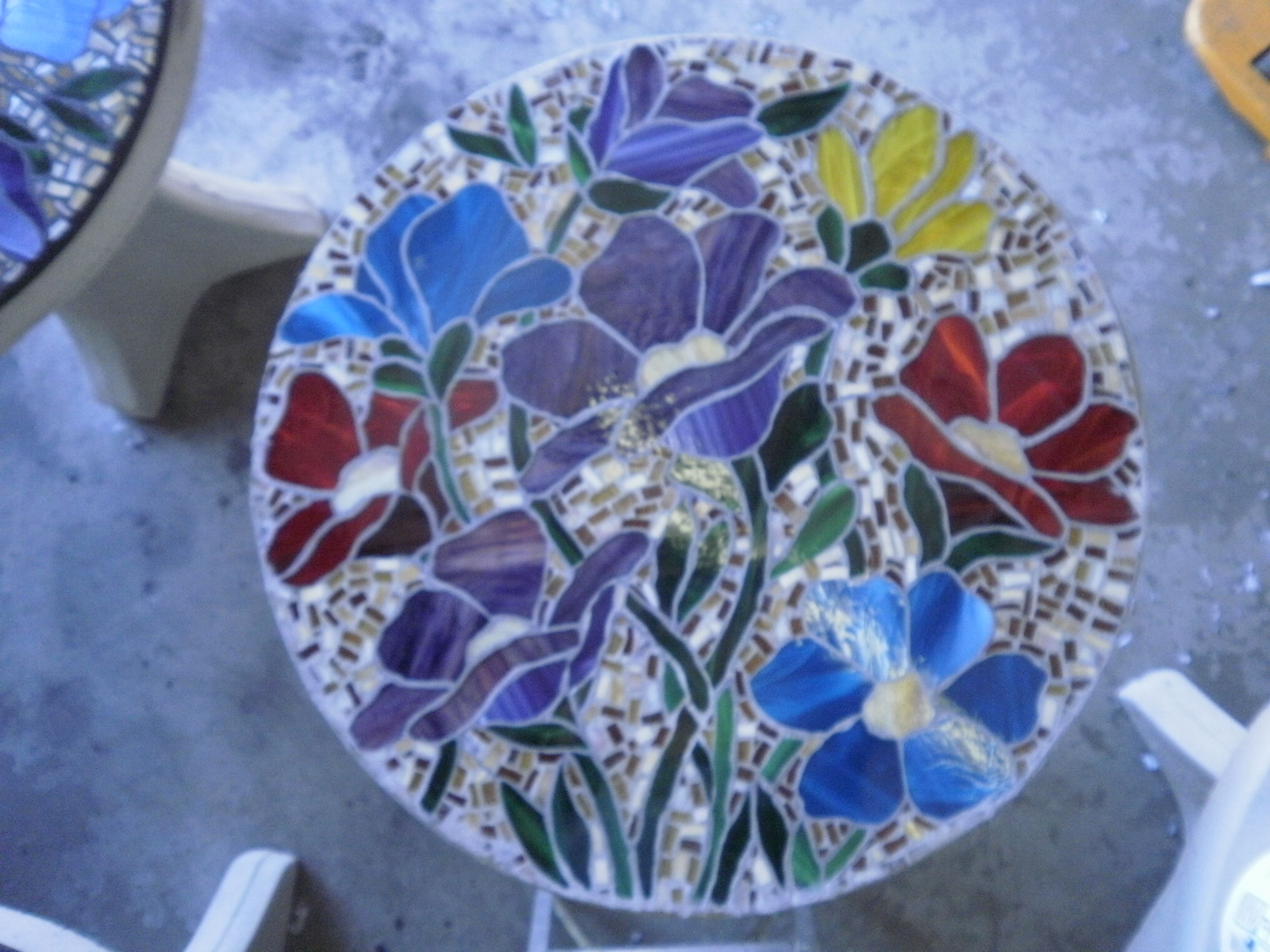 Mosaic Table Top Workshop.
