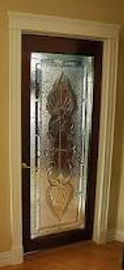 Beveled Interior Door
