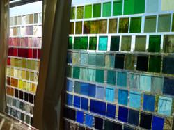 Glass Display Wall