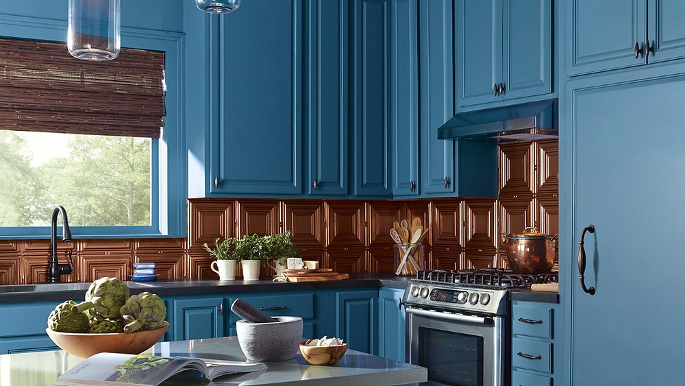 Make Your Kitchen Fresh & Fabulous By Using Our Kitchen Cabinet Painting & Refinishing Service