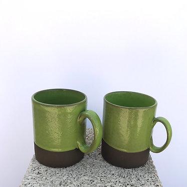 Pistachio Mugs - Set of 2
