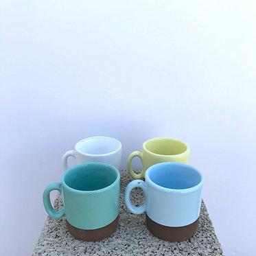 Mixed Espresso Mugs - Set of 4
