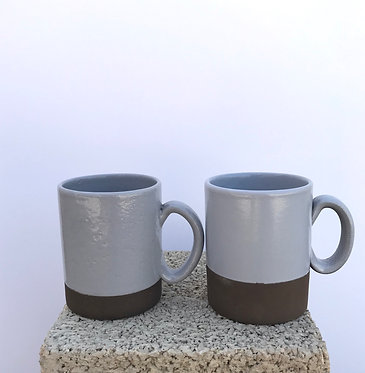 Grey Mugs - Set of 2