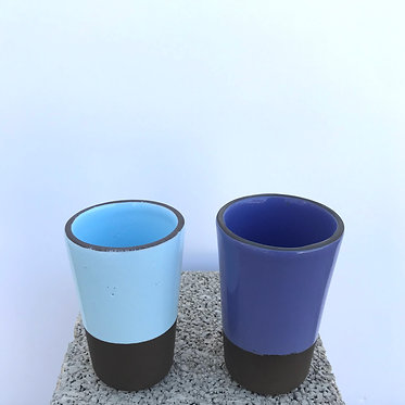 Mixed Conical Glasses - Set of 2