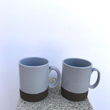 Grey Mugs - Set of 2