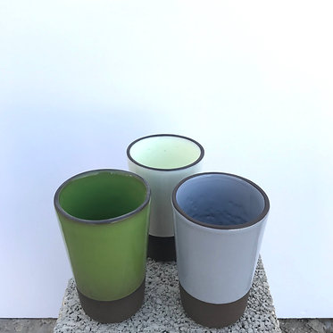 Mixed Conical Glasses - Set of 3
