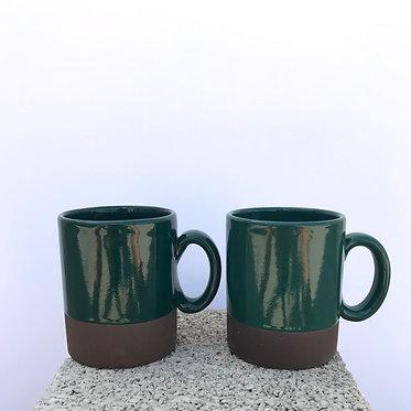 Emerald Mugs - Set of 2