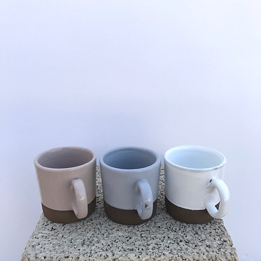 Mixed Espresso Mugs - Set of 3
