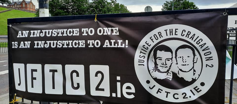 Wootton Family Condemn Removal of JFTC2 Solidarity Banners.