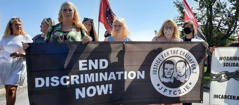 Maghaberry Protest Calls for End to Discriminatoin