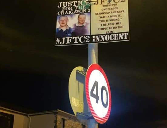 Campaign to end this Miscarriage of Justice continues