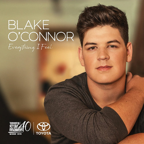 """Everything I Feel"" Blake O'Connor Debut Album"