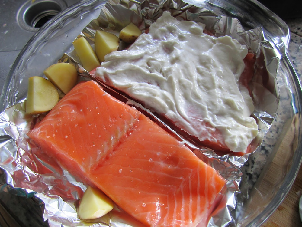 guiding parents, parent support, parenting support, recipe, healthy living, salmon recipe