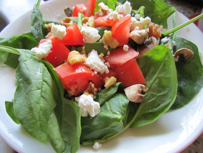 What's For Lunch: Mountain Salad