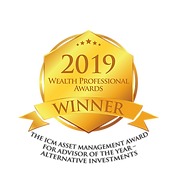 2019 Wealth Professional Awards - Advisor of the Year - Alternative Investments