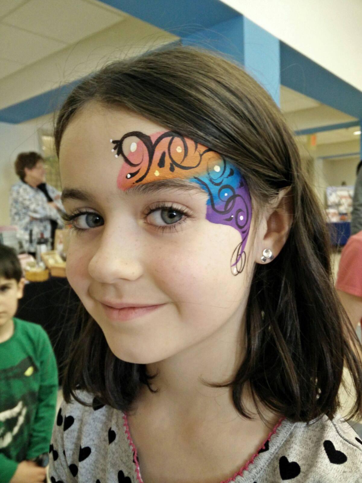Colorful floral design