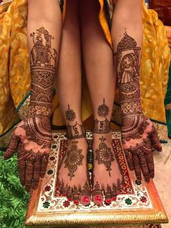 Bridal henna- rajasthani-bride-groom1