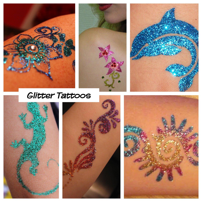 glitter+tattoos+for+kids