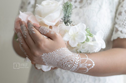 White Bridal Henna