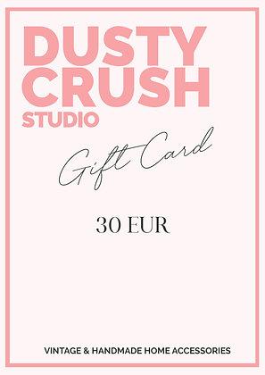 Geschenk-Gutschein 30€