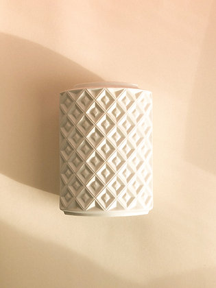 "Vase ""Geometric Glam"""