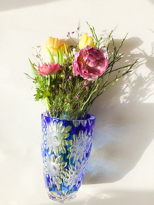 "Vase ""Blue Phoenix"""