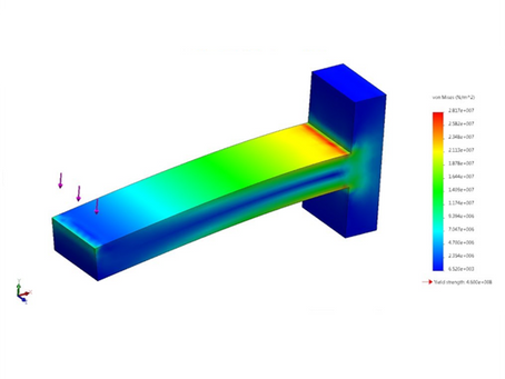 Simulations for Increasing Product Life and Reducing the Manufacturing Cost