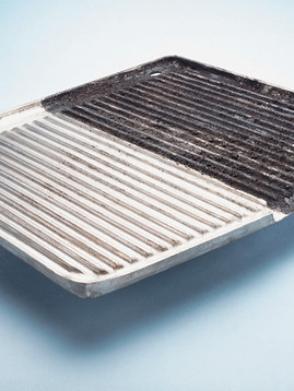 Grill Plate Before & After