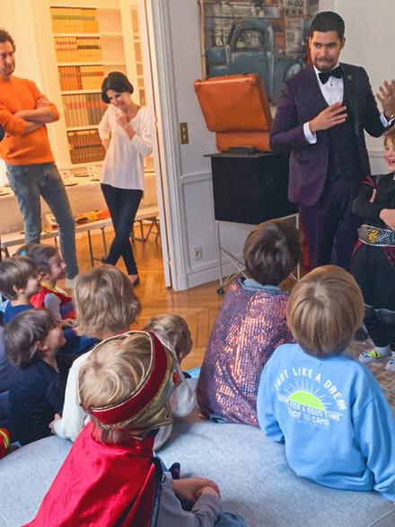 Anniversaire enfant à Paris