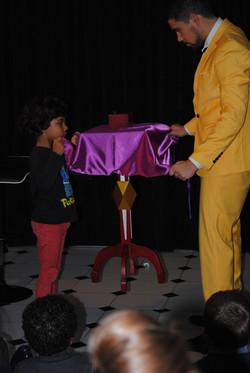 grande magie avec enfant