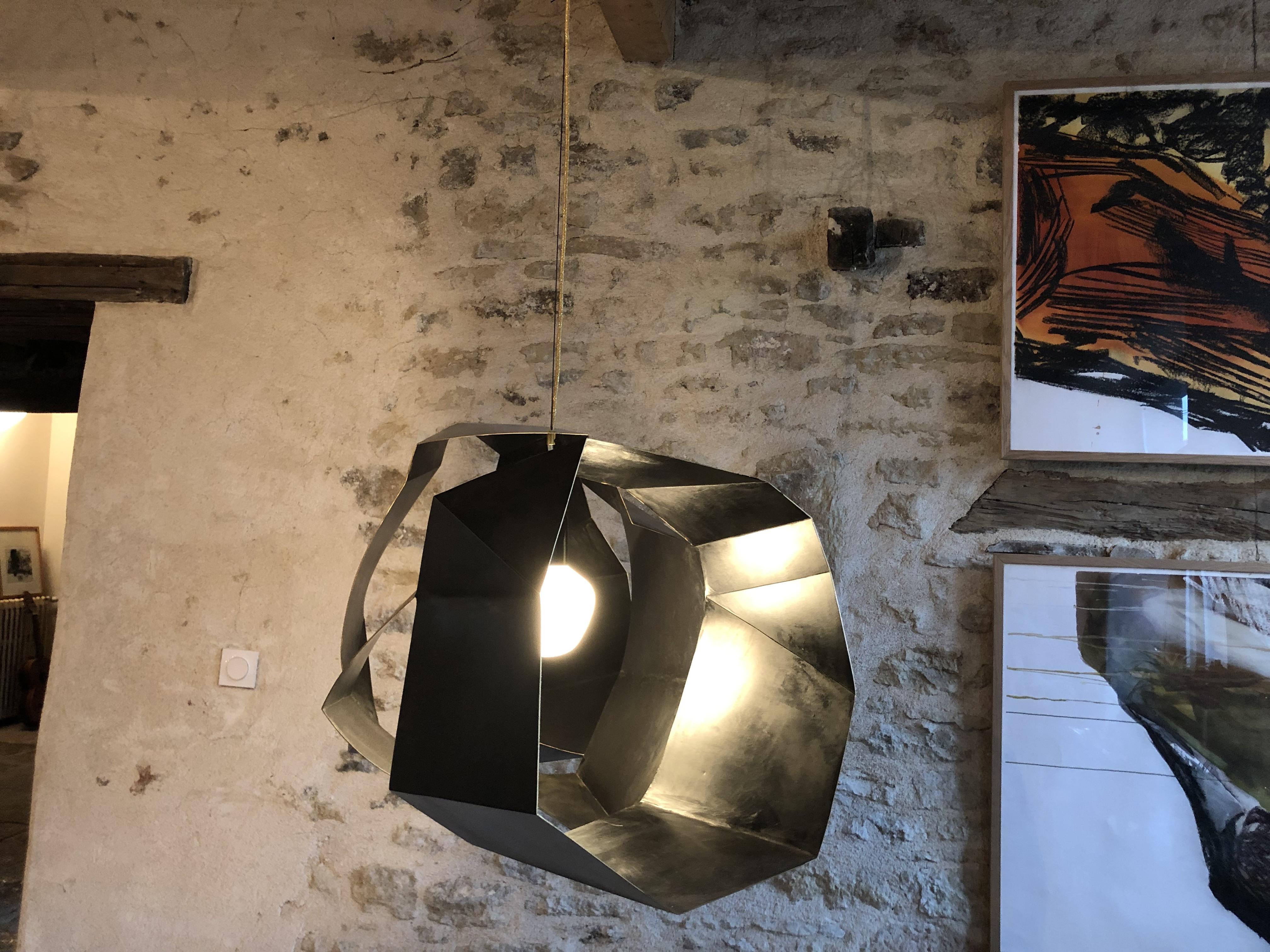 Twist chandelier 2