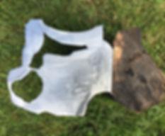 sculpture wood steel