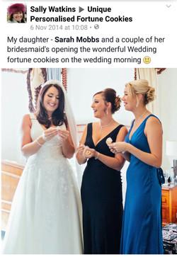 Wedding Day Surprise