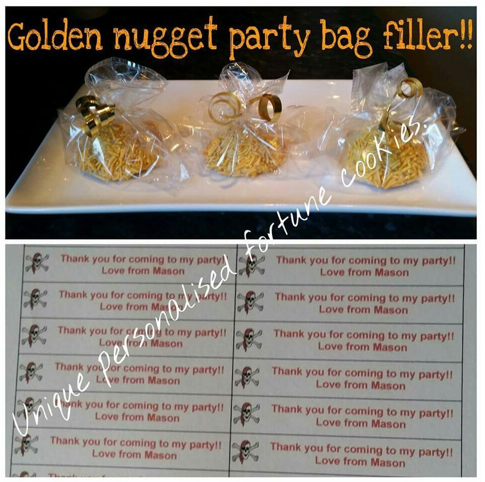 Golden Nugget Party Bag
