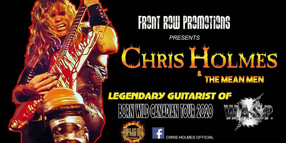 Chris Holmes Legendary Guitarist of WASP