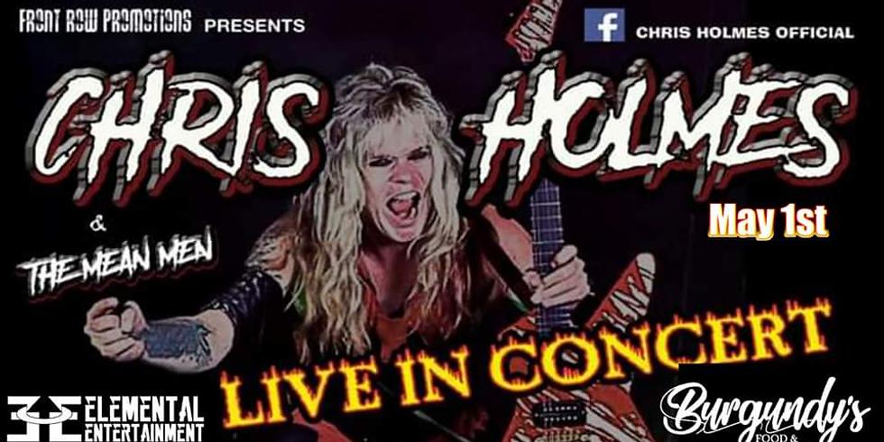 Chris Holmes & The Mean Men (WASP Guitarist) LIVE