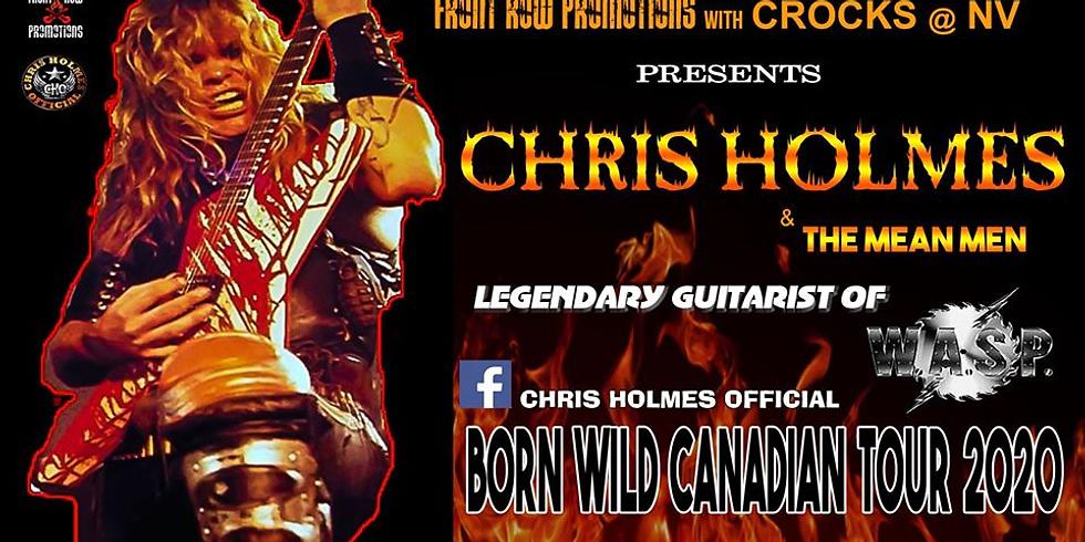 Chris Holmes Legendary WASP Guitarist