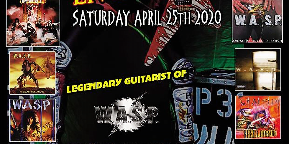 WASP's Chris Holmes & The Mean Men live in Sudbury