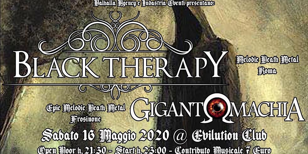 Black Therapy + Gigantomachia // Evilution Club