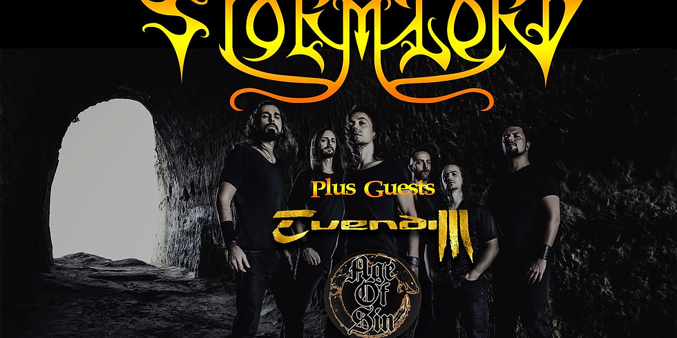 Metal Arezzo Festival - Stormlord / Age Of Sin / Evendim