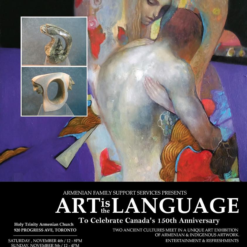 Art is the Lanugage