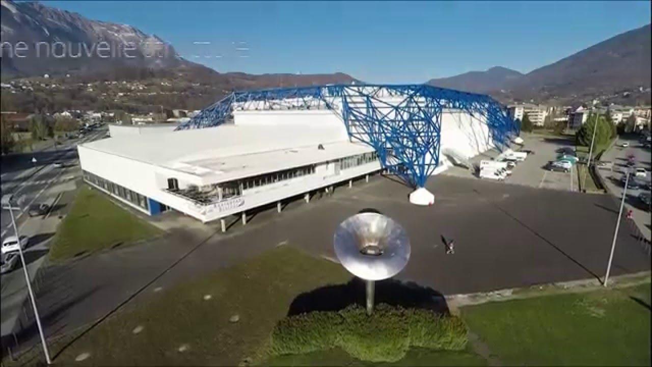 halle olympique vue du ciel